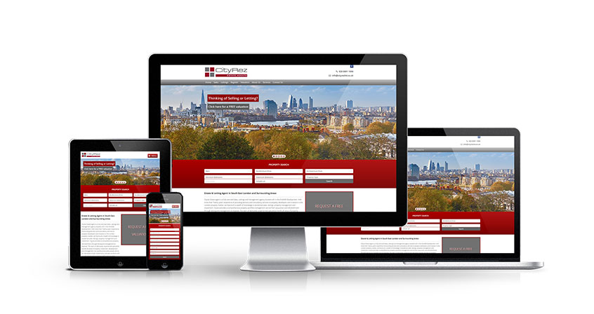 CityRez Estate Agents - New Estate Agent Website Launched
