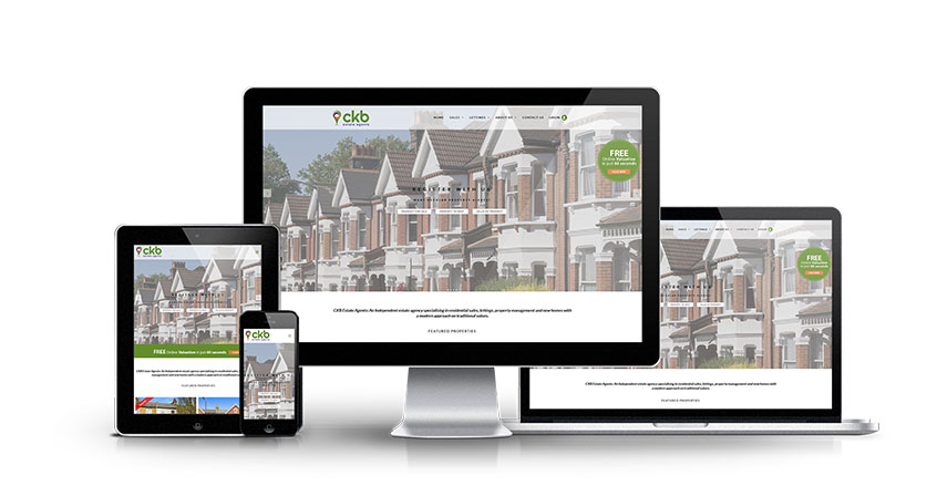 CKB Estate Agents - New Estate Agent Website Launched