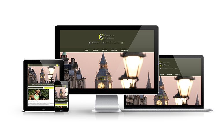 Cochrane and Wilson - New Estate Agent Website Launched