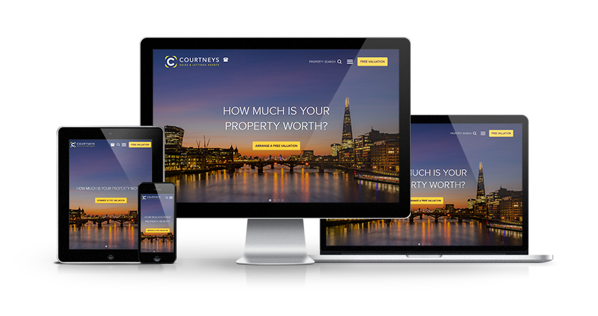 Courtneys - New Estate Agent Website Launched