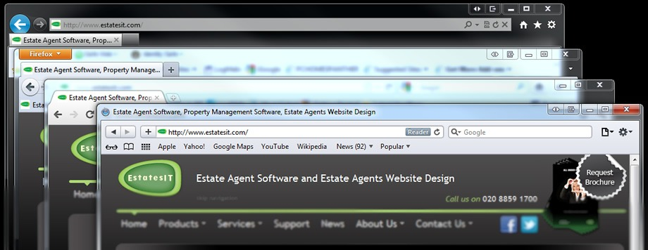 The Importance of Cross Browser Compatibility For Your Estate Agent Website