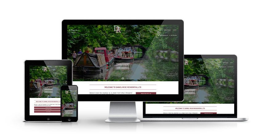 Daniel Rose Residential Ltd - New Estate Agent Website Launched