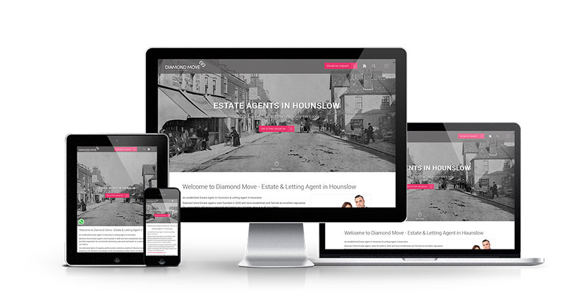 Diamond Move - New Estate Agent Website Launched