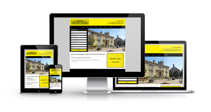 Dream House - New Estate Agent Website Launched