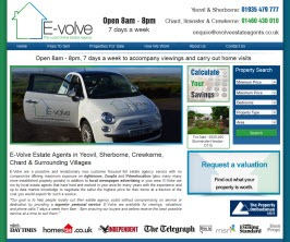 Pro Web Site - www.evolveestateagents.co.uk/