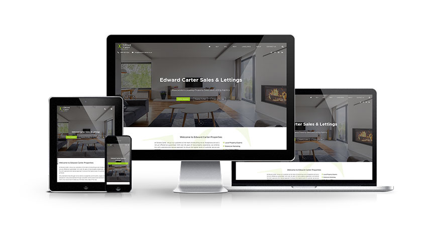 Edward Carter Sales & Lettings - New Estate Agent Website Launched