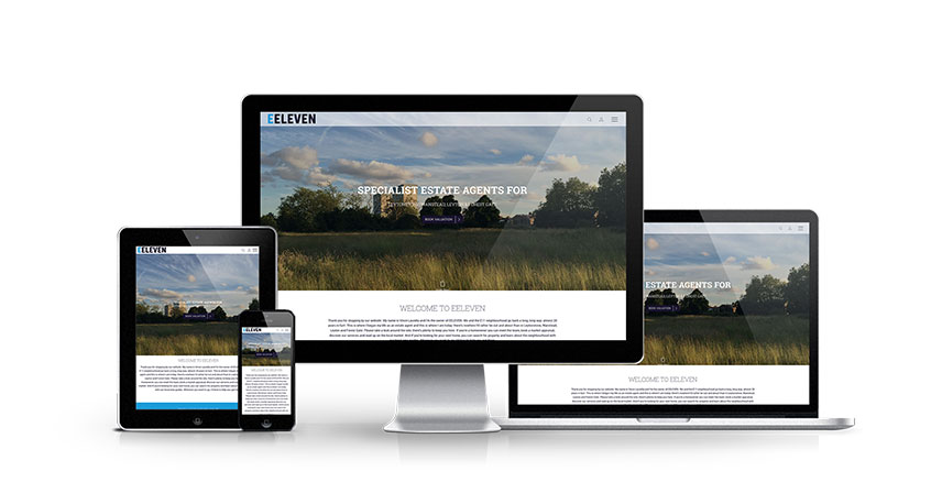 EEleven - New Estate Agent Website Launched