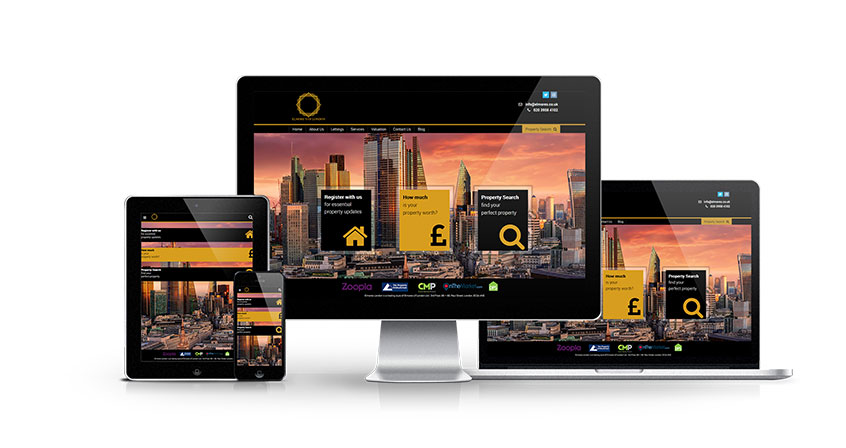 Elmores of London - New Estate Agent Website Launched