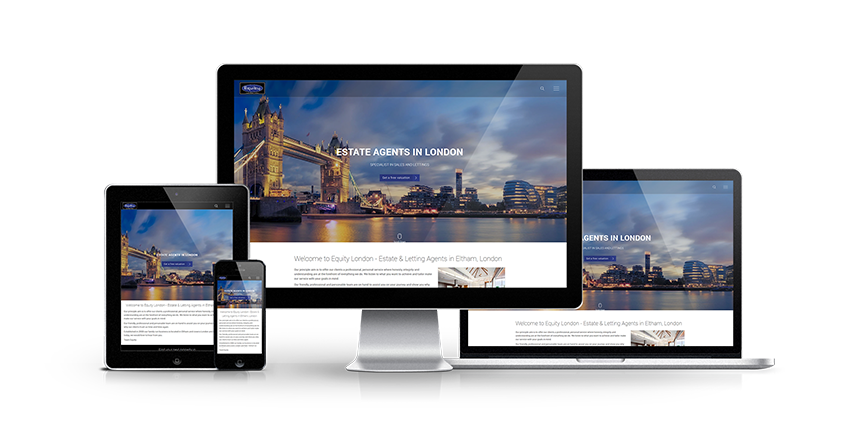 Equity London Ltd - New Estate Agent Website Launched