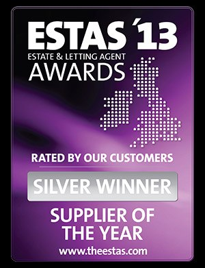 ESTAS Supplier Of The Year Award 2013