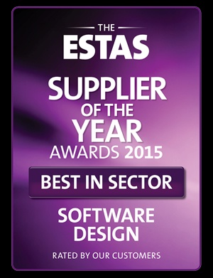 ESTAS Best in Sector Award 2015 - Software Design