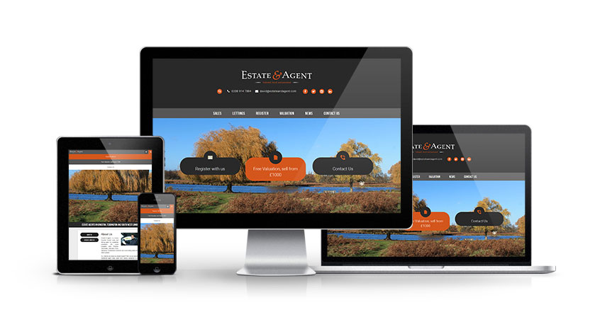Estate and Agent - New Estate Agent Website Launched