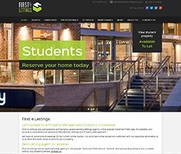 Bespoke Web Site - www.first4lettings.co.uk/