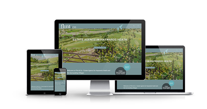 Flint & Co - New Estate Agent Website Launched