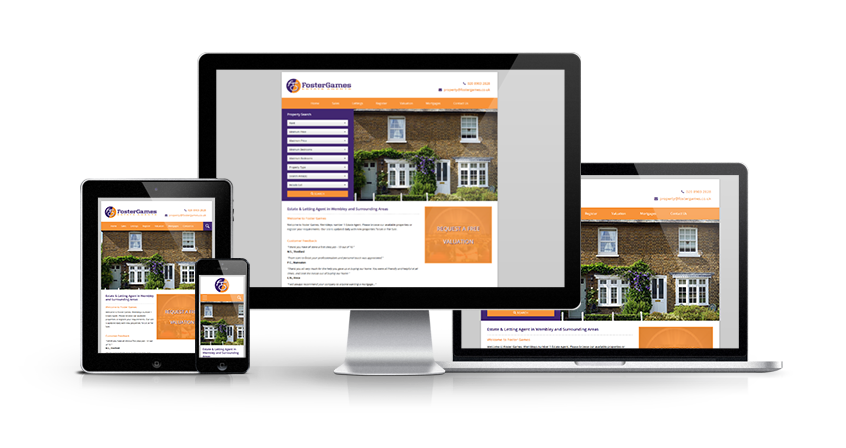 Foster Games Estate Agents - New Estate Agent Website Launched