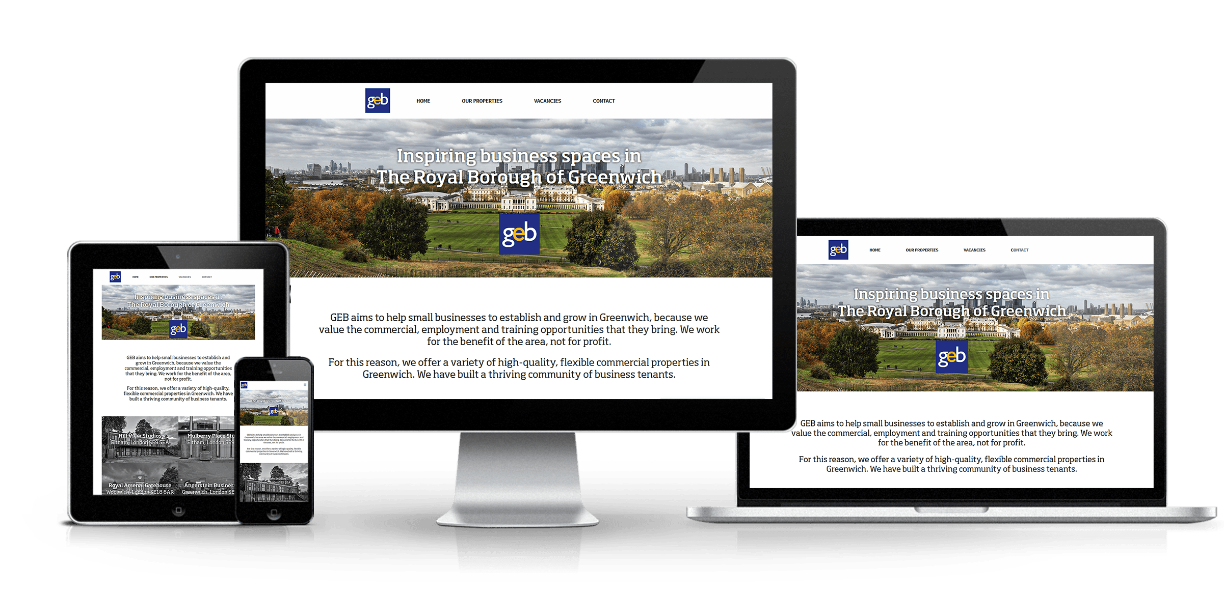 GEB - New Estate Agent Website Launched