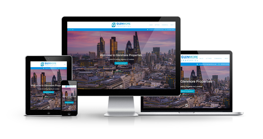 Glenmore Properties - New Estate Agent Website Launched