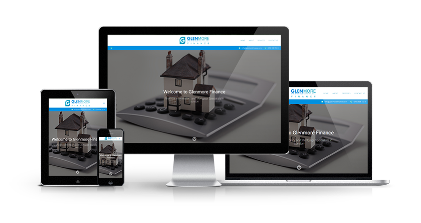 Glenmore Finance - New Estate Agent Website Launched