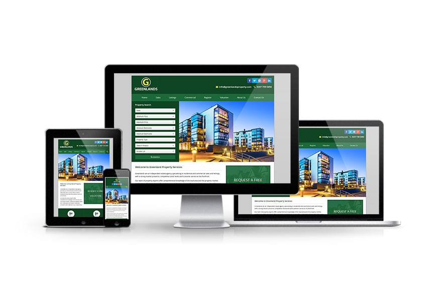 Greenland Property - New Estate Agent Website Launched