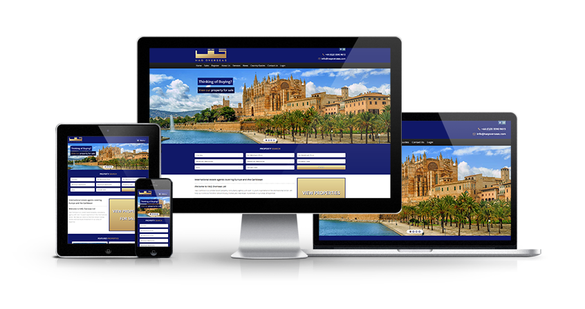 Haq Overseas - New Estate Agent Website Launched