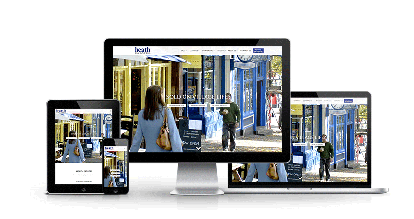 Heath Estates - New Estate Agent Website Launched