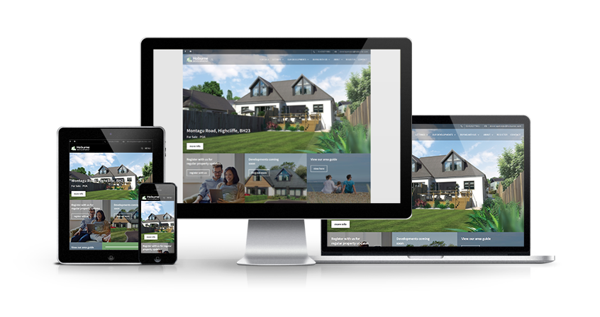 Hoburne Development - New Estate Agent Website Launched