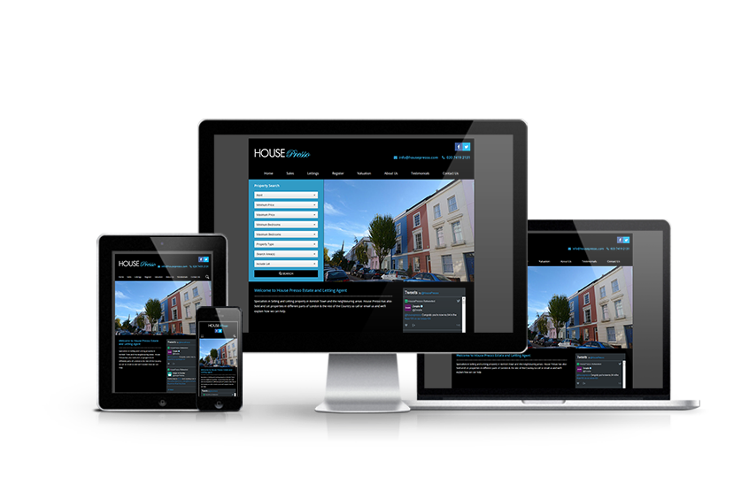 House Presso - New Estate Agent Website Launched