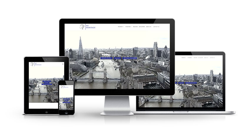 HT Heritage - New Estate Agent Website Launched
