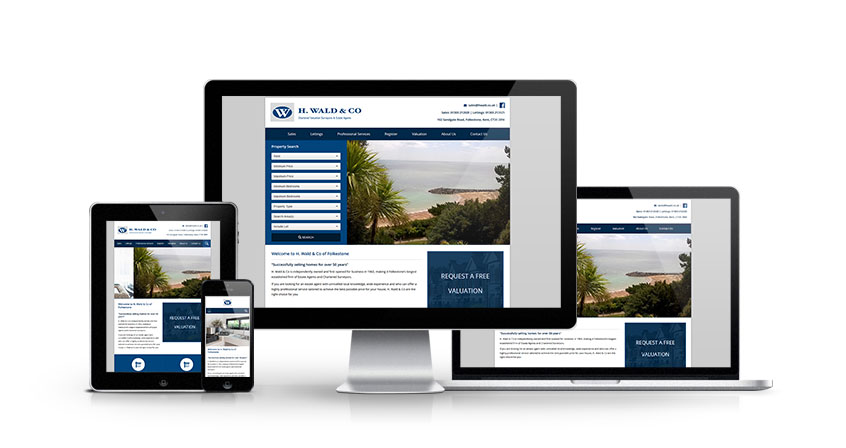 H Wald & Co - New Estate Agent Website Launched