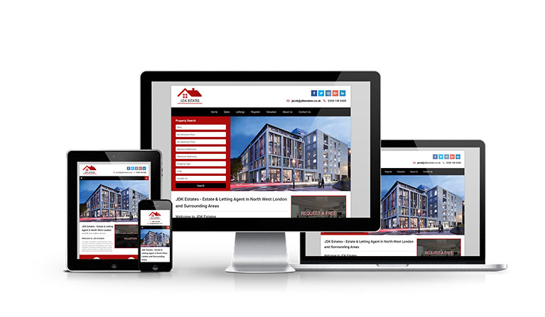 JDK Estates - New Estate Agent Website Launched