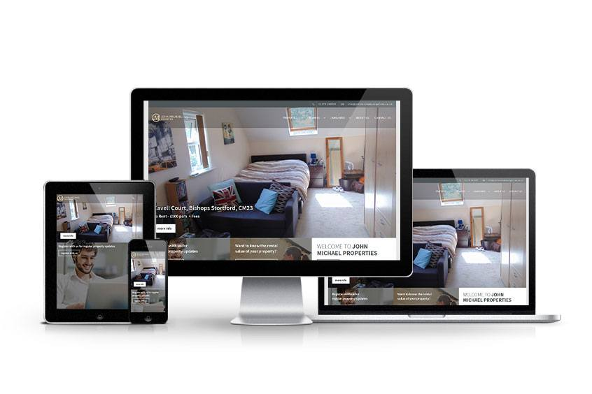 John Michael Properties - New Estate Agent Website Launched