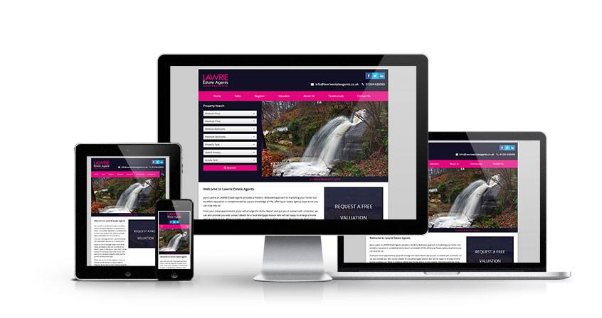 Lawrie Estate Agents - New Estate Agent Website Launched