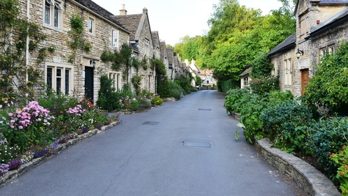 A Typical Leafy Lane