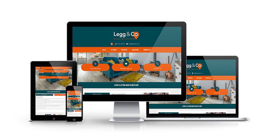 Legg & Co - New Estate Agent Website Launched