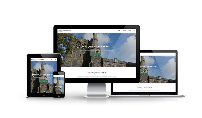 Martyn Meade & Staff - New Estate Agent Website Launched