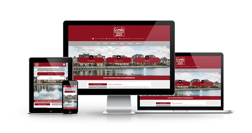 Linda Matthews Estate Agents - New Estate Agent Website Launched