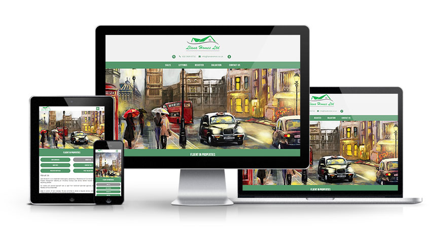 Llana Homes Ltd - New Estate Agent Website Launched