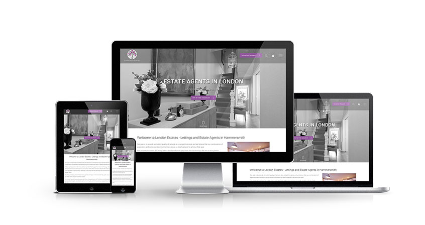 London Estates - New Estate Agent Website Launched