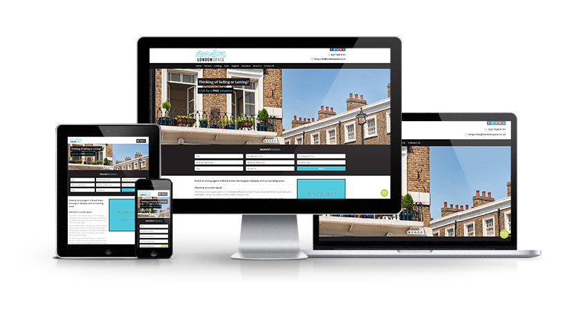 London Space - New Estate Agent Website Launched