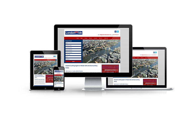 London Wide Estates - New Estate Agent Website Launched