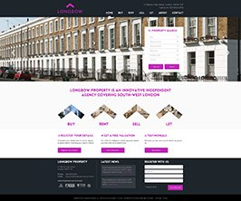 Bespoke Web Site - www.longbowproperty.london/