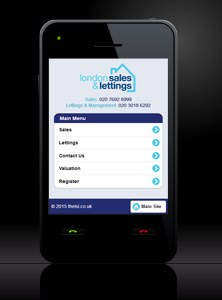 London Sales & Lettings - New Estate Agent Mobile Website Launched