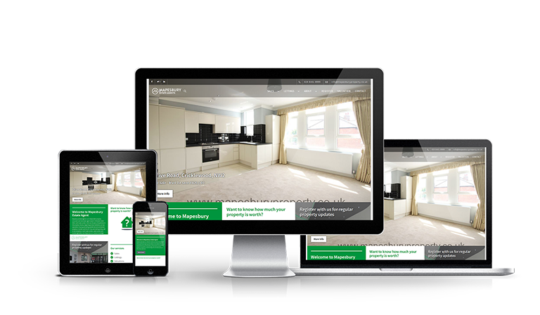 Mapesbury Estate Agents - New Estate Agent Website Launched