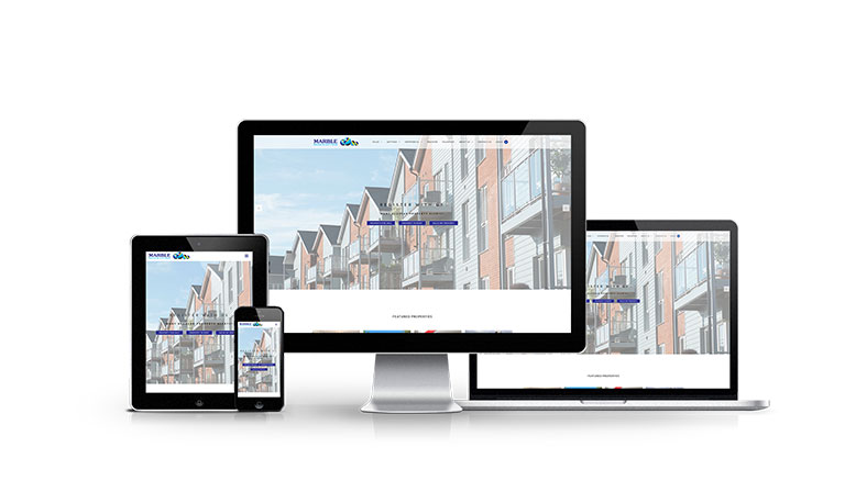 Marble Sales & Lettings - New Estate Agent Website Launched