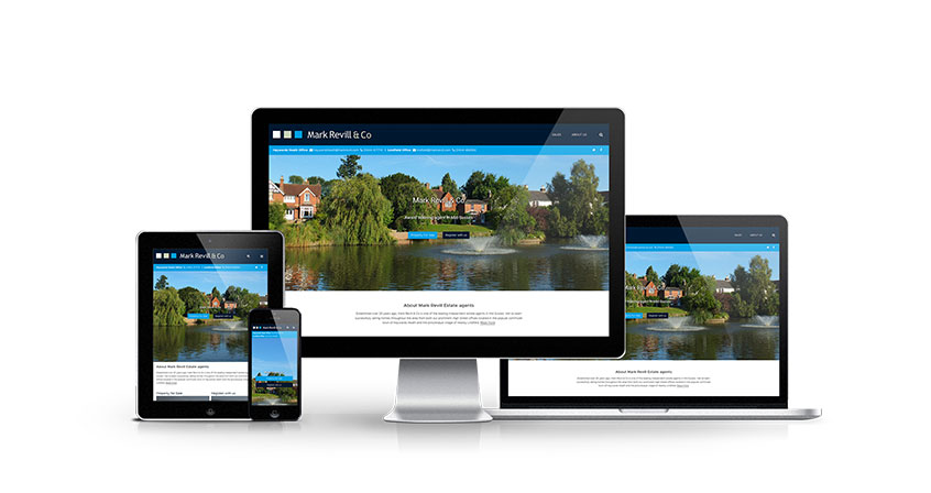 Mark Revill - New Estate Agent Website Launched