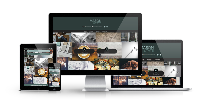 Mason & Tate - New Estate Agent Website Launched