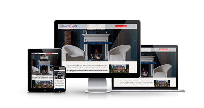 Meacock & Jones - New Estate Agent Website Launched