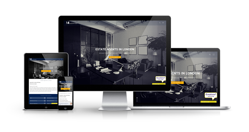 ML Estates - New Estate Agent Website Launched