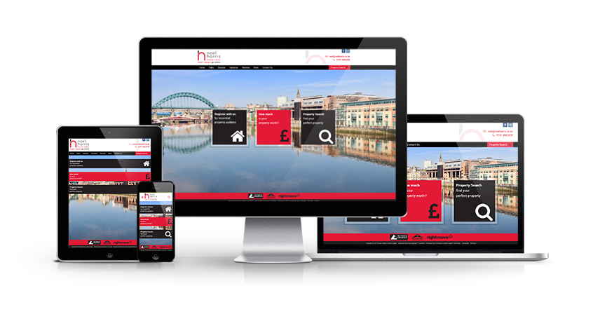Noel Harris - New Estate Agent Website Launched