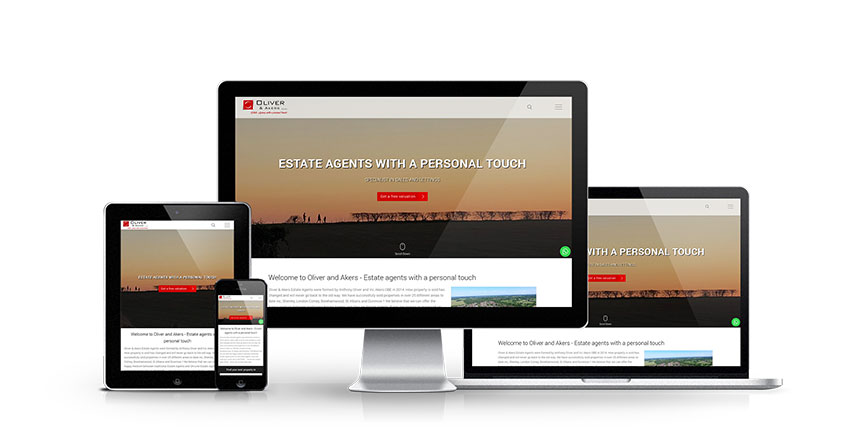 Oliver and Akers - New Estate Agent Website Launched